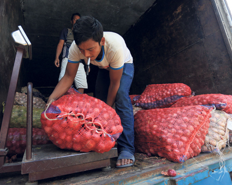 Price of Chinese onions record high in Nepali market