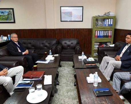 Hours after their first formal dialogue, government and Chand-led CPN hold second round of talks