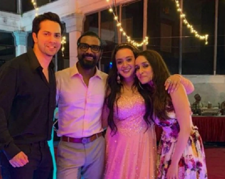 Varun Dhawan makes a funny comment as Remo D'Souza marries his wife for the third time