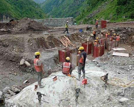 Construction of 216 MW Upper Trishuli-1 Hydropower Project starts