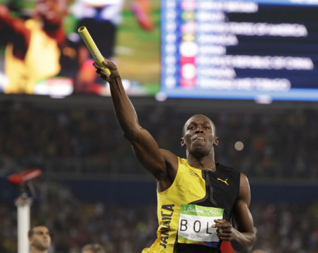 Bolt gets gold No. 9 with another runaway win