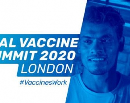 Nepal participates in Global Vaccine Summit 2020 that raised US$8.8 billion for new vaccines