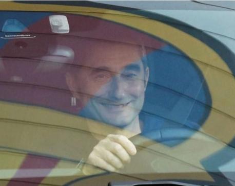 Barca sack coach Valverde, appoint Setien until 2022
