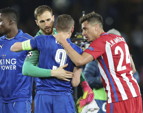 Remarkable Leicester journey ended by Atletico Madrid