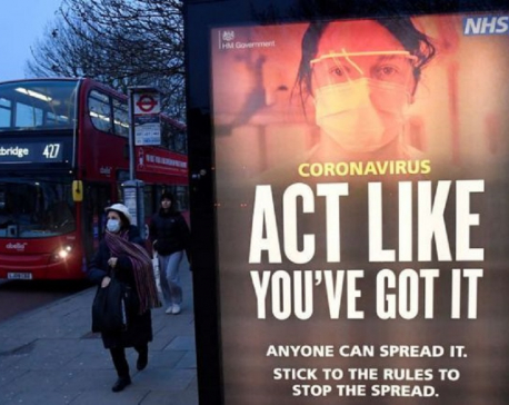 UK detects South African coronavirus variant in people with no travel links
