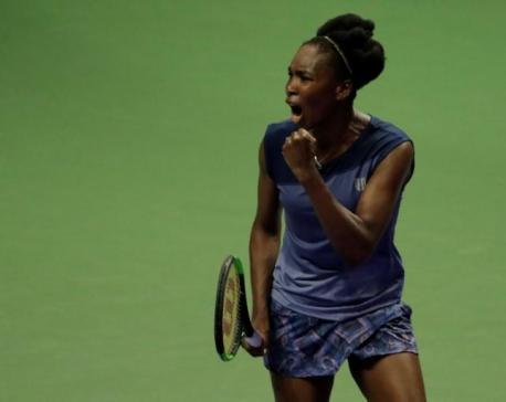 Venus turns back clock to edge Ostapenko in marathon