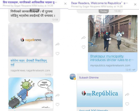 Republica and Nagarik launch official Viber community groups