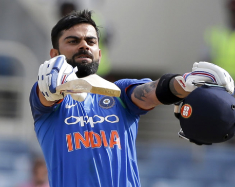 India eases to 8-wicket win, takes ODI series in West Indies