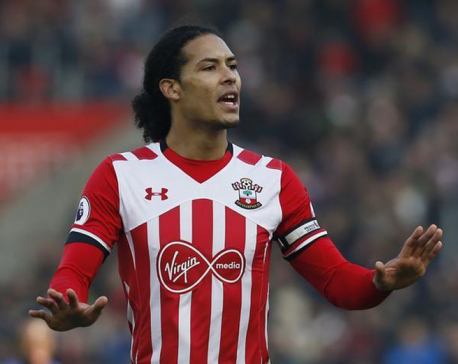Liverpool set to avoid sanction over Van Dijk approach
