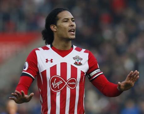 Liverpool set to avoid sanction over Van Dijk approach