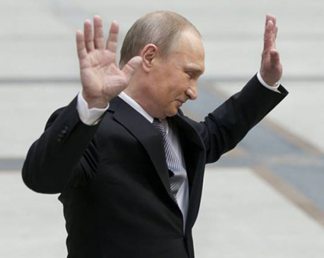Why is Russian President Vladimir Putin late for meetings with world leaders?