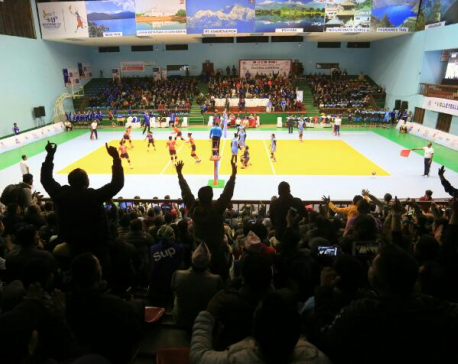 India beat Nepal in Women's Volleyball