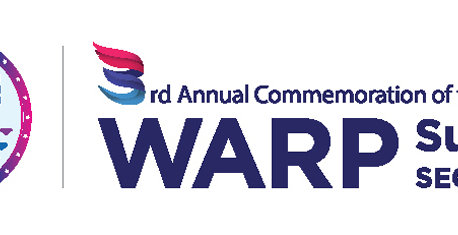 3rd Annual Commemoration of the WARP Summit on Sept 17-19
