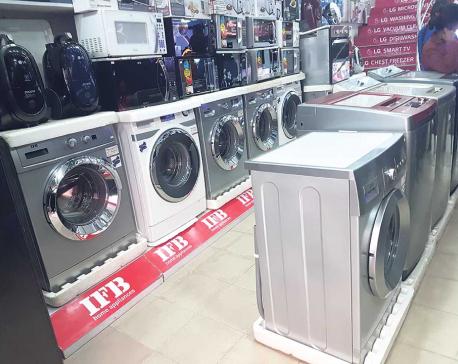 Washing machine sales surge