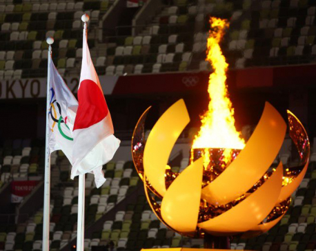 Japan to douse Olympic flame of Games transformed by pandemic and drama