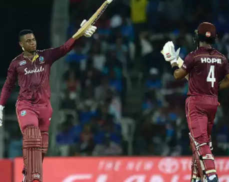 West Indies tame mighty Indians in spectacular fashion