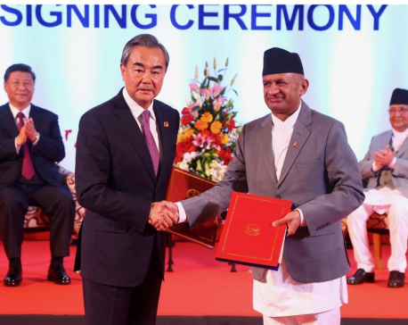 Nepal, China sign 18 bilateral cooperation deals, two letters of exchange (with photos)