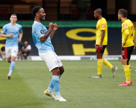 Watford slip into bottom three after thrashing by Man City
