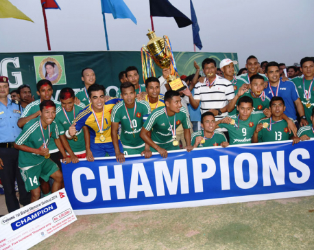 Army Club wins Bishal Memorial Gold Cup