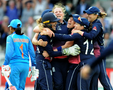 England beats India to win fourth Women's Cricket World Cup