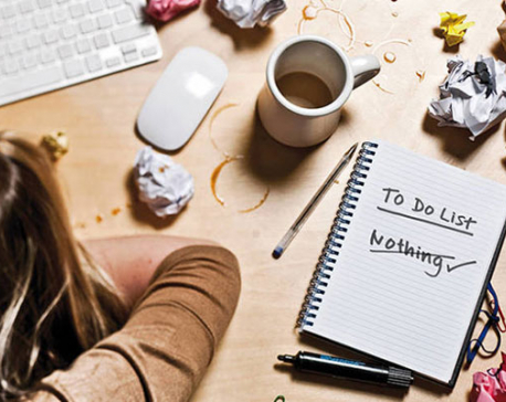Making yourself work when you don't want to