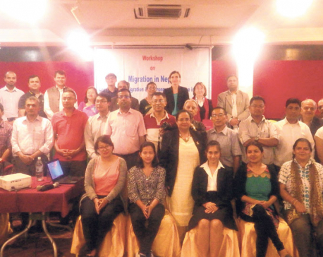 Workshop on migration, environmental changes