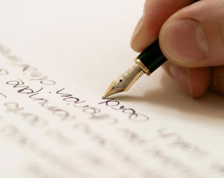 I write to breathe, I write to live