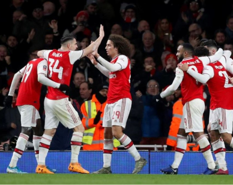 Reiss goal sees Arsenal edge past Leeds in FA Cup