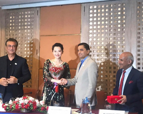 Chinese actress Xu Qing appointed as goodwill ambassador for promotion of Visit Nepal 2020