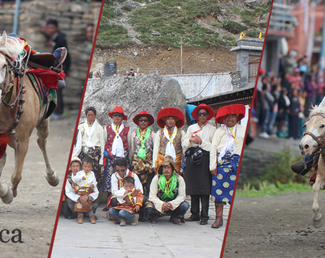Yartung festival celebrated in Muktinath-1, but just for formality, again