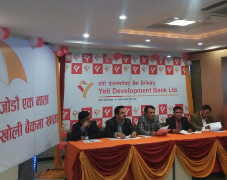 Yeti Dev Bank organizes financial literacy program