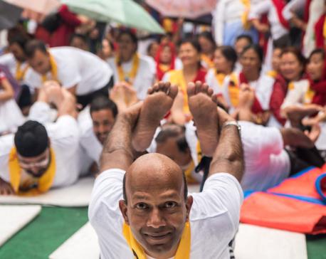 Finding an emotional balance through yoga