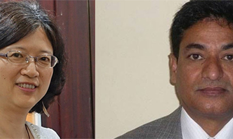 Minister Lekhak, envoy Yu insist on timely completion of China-funded projects