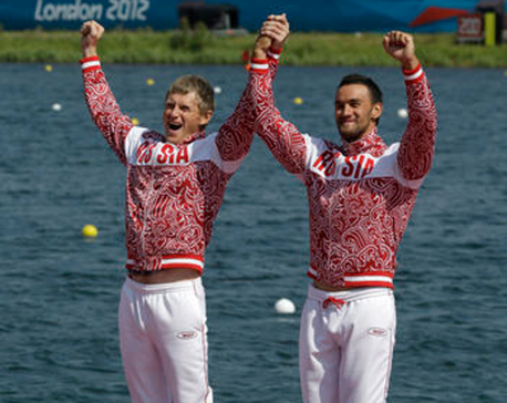5 Russian canoeists, including Olympic champ, get Rio bans