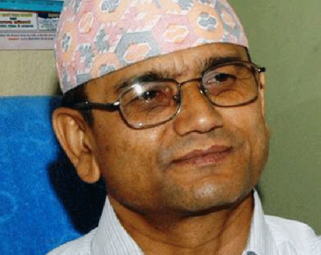 Let's institutionalize our issues thru elections: Gyawali