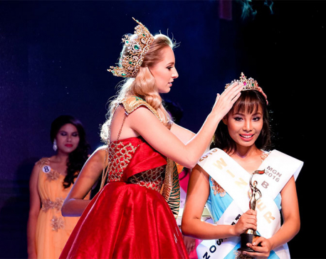 Lama crowned 'Miss Grand Nepal-2016'