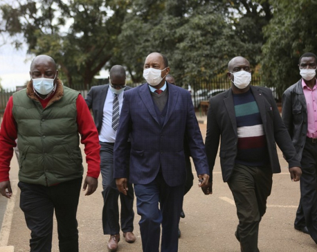 Zimbabwe's health minister charged in COVID-19 graft case