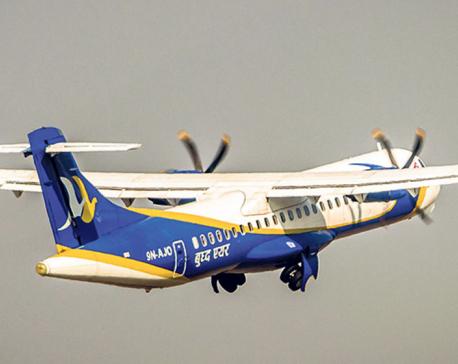 Buddha Air flight with 73 passengers onboard lands safely in Kathmandu despite landing gear failure