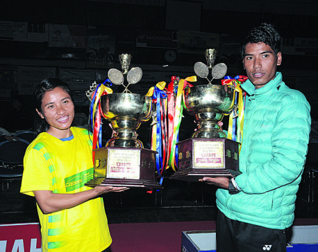 Ratna Jit completes double hat-trick of title