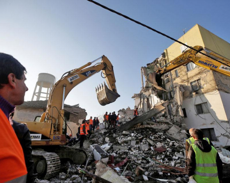 Six dead, buildings down as strongest tremor in decades rocks Albania