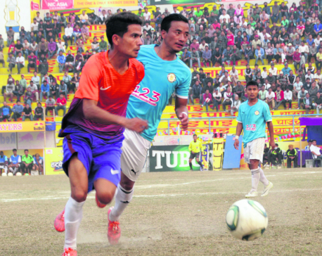 Dharan Blue into semifinal with convincing win over Sahara