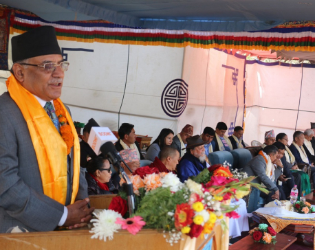 Economic prosperity possible through mountaineering tourism: Chair Dahal (with photos)