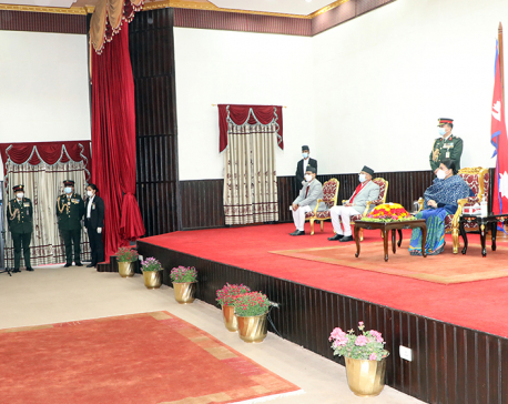 CIAA chief Rai among others take oath of office and secrecy