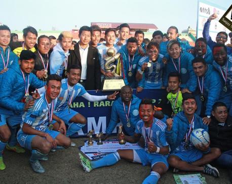 Defending champion MMC lifts Aaha-Rara Gold Cup title