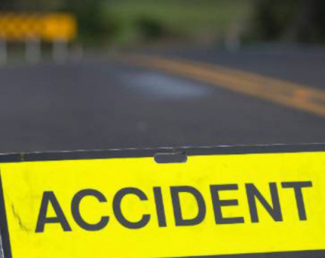 Three killed in a road accident in Solukhumbu