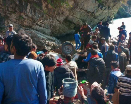 14 die in Baglung jeep accident