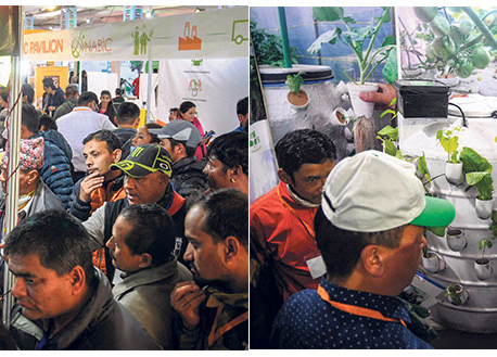 Nepal Agritech International Expo in Kathmandu