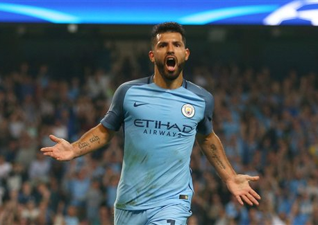 Man City striker Aguero hurt in car crash