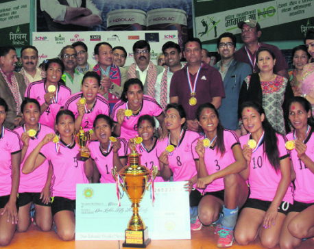 APF lifts KNP National Women's Volleyball title