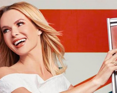 Actor Amanda Holden says she doesn't like to leave the house without false eyelashes